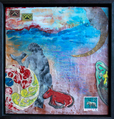 Encaustic artwork by Belinda Gore