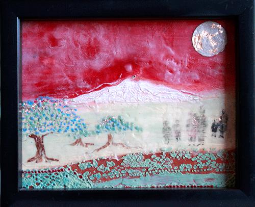 Encaustic artwork by Belinda Gore